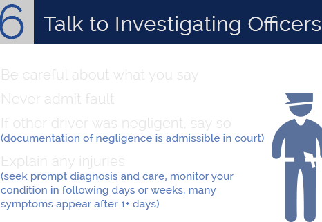 Talk to Investigating Officers